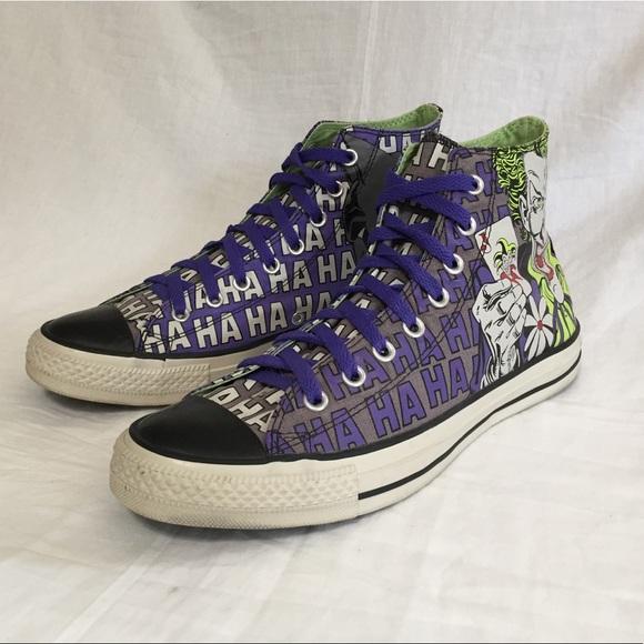 63936f5a743c Converse Other - Converse All Star Joker vs Batman Hi Top Shoes